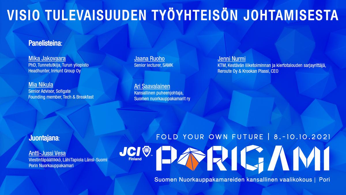 PrePorigami SuomiAreenalla